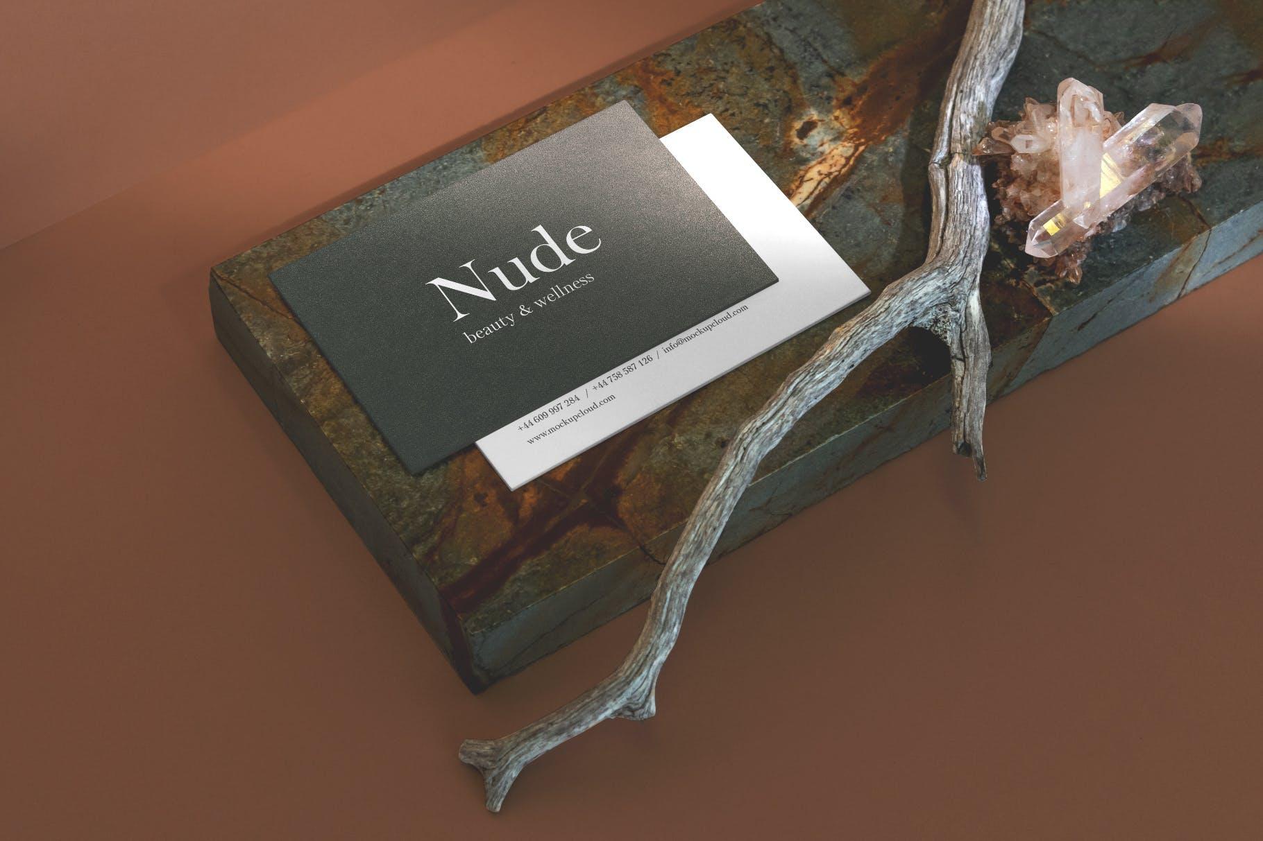 超级品牌VI视觉设计展示效果图样机模板 Nude Branding Mockup-变色鱼