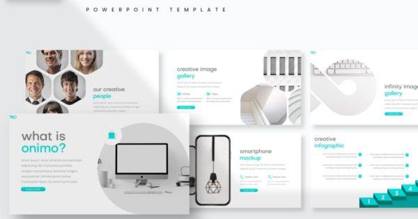 流行简约设计PPT模板 – Powerpoint Template