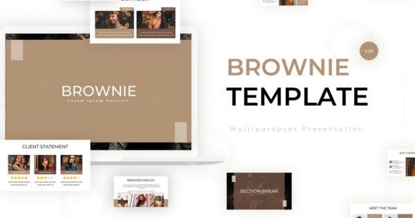 服饰品牌预售PPT推广模板 Zent – Powerpoint Template设计素材模板