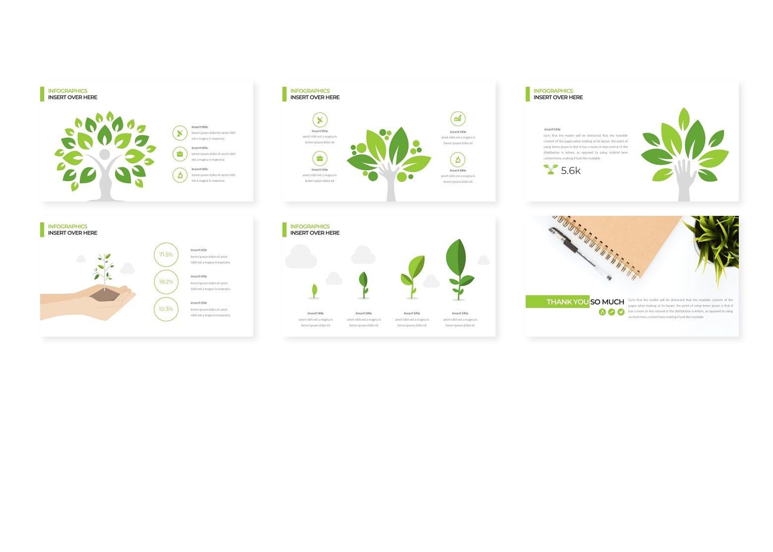 科普类演讲PPT幻灯片模板 Orchimides – Powerpoint Templates设计素材模板