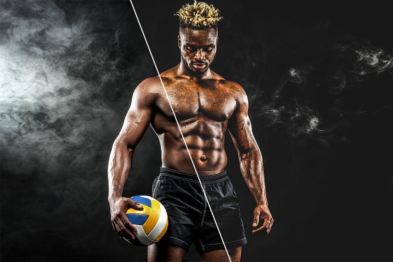 健身人士适用照片后期调色Lightroom预设 39 Sports HDR Lightroom Presets设计素材模板