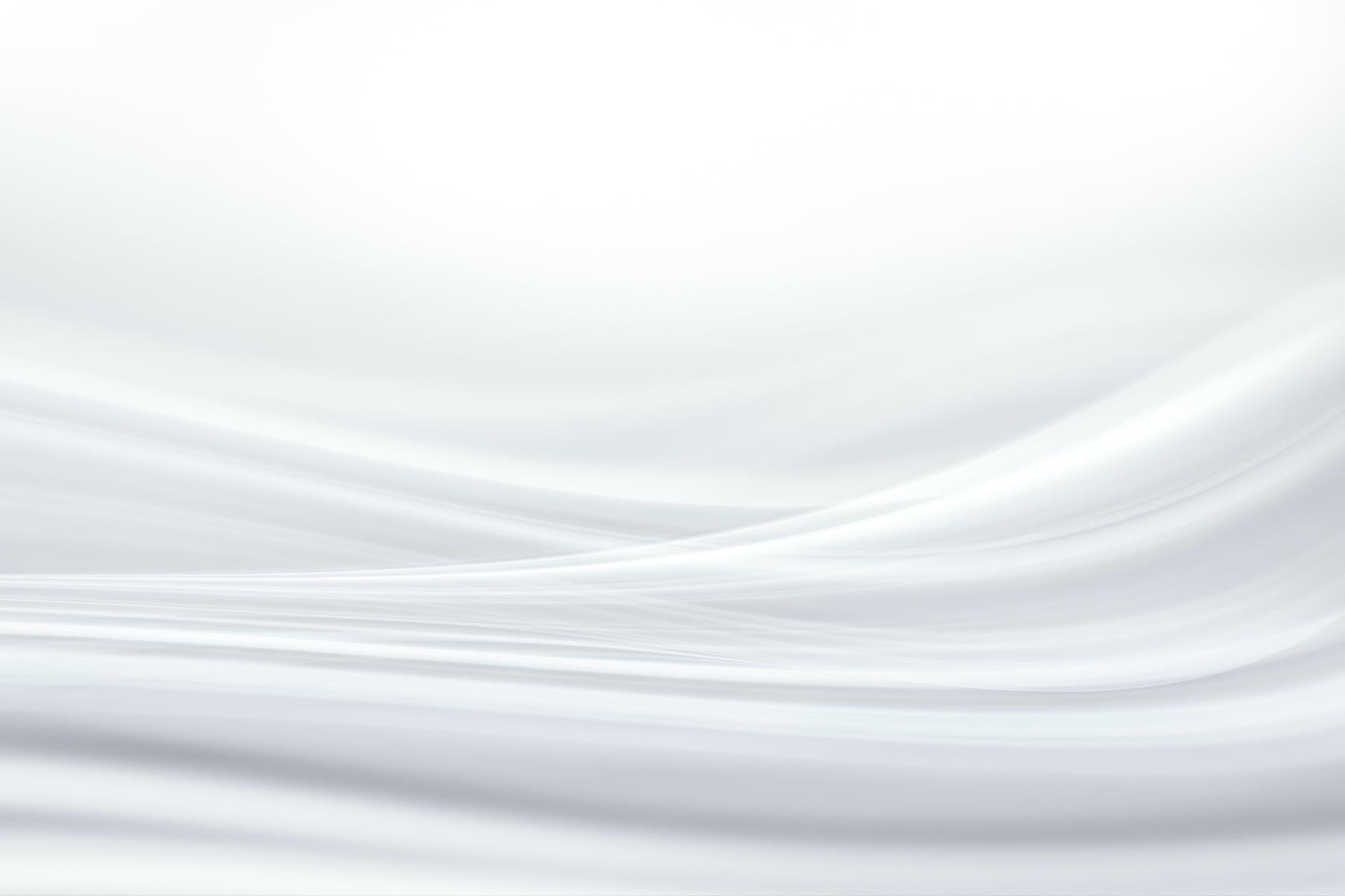 白色波浪平滑线条理高清背景图素材 abstract white background设计素材模板