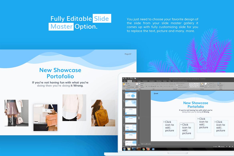 极简布局排版设计PPT演示文稿 GRANDE PowerPoint Presentation设计素材模板