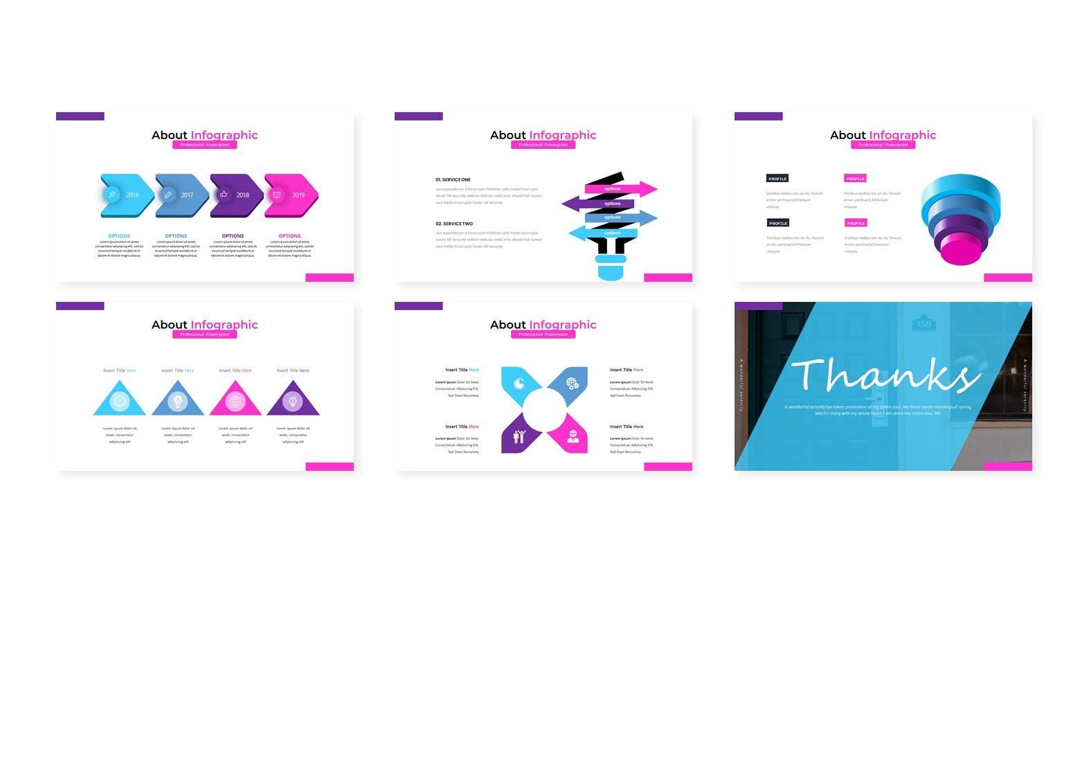 彩色内容PowerPoint演示模板 Socra – Powerpoint Template设计素材模板