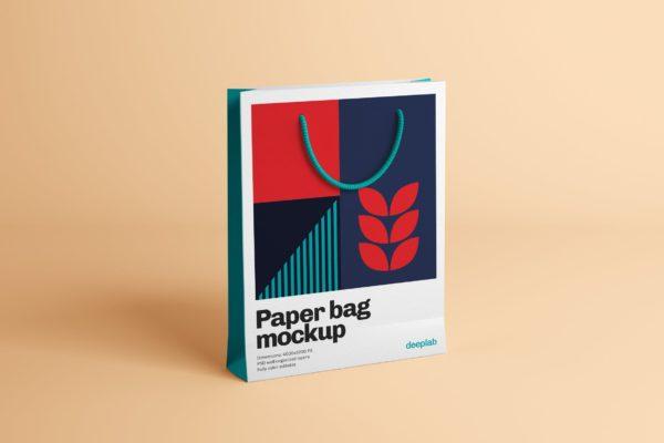 礼品袋&纸袋设计样机模板 Paper Bag Mockup