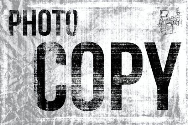 干碳粉材质纹理素材 Photocopy – Dry Toner Textures