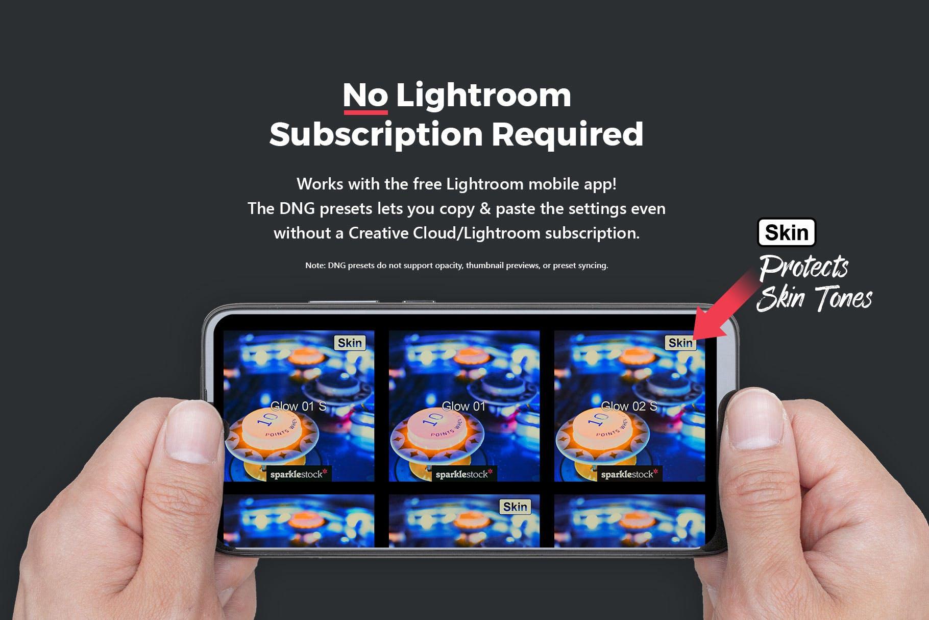 都市街道霓虹灯摄影后期LR预设 20 Black Light Lightroom Presets & LUTs设计素材模板