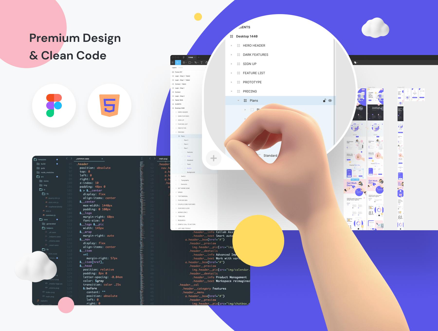 公司响应式设计网站设计素材模板