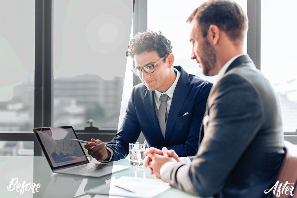 商务会议风格照片处理Photoshop动作 Corporate Photoshop actions设计素材模板