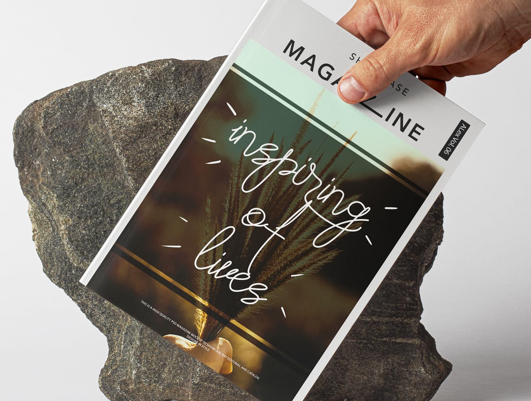 现代时尚手写签名脚本字体下载设计素材模板