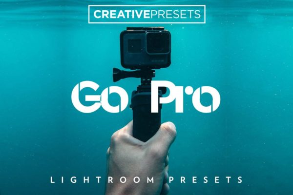 GoPro相机照片摄影后期处理Lightroom调色预设 GoPro Lightroom Presets