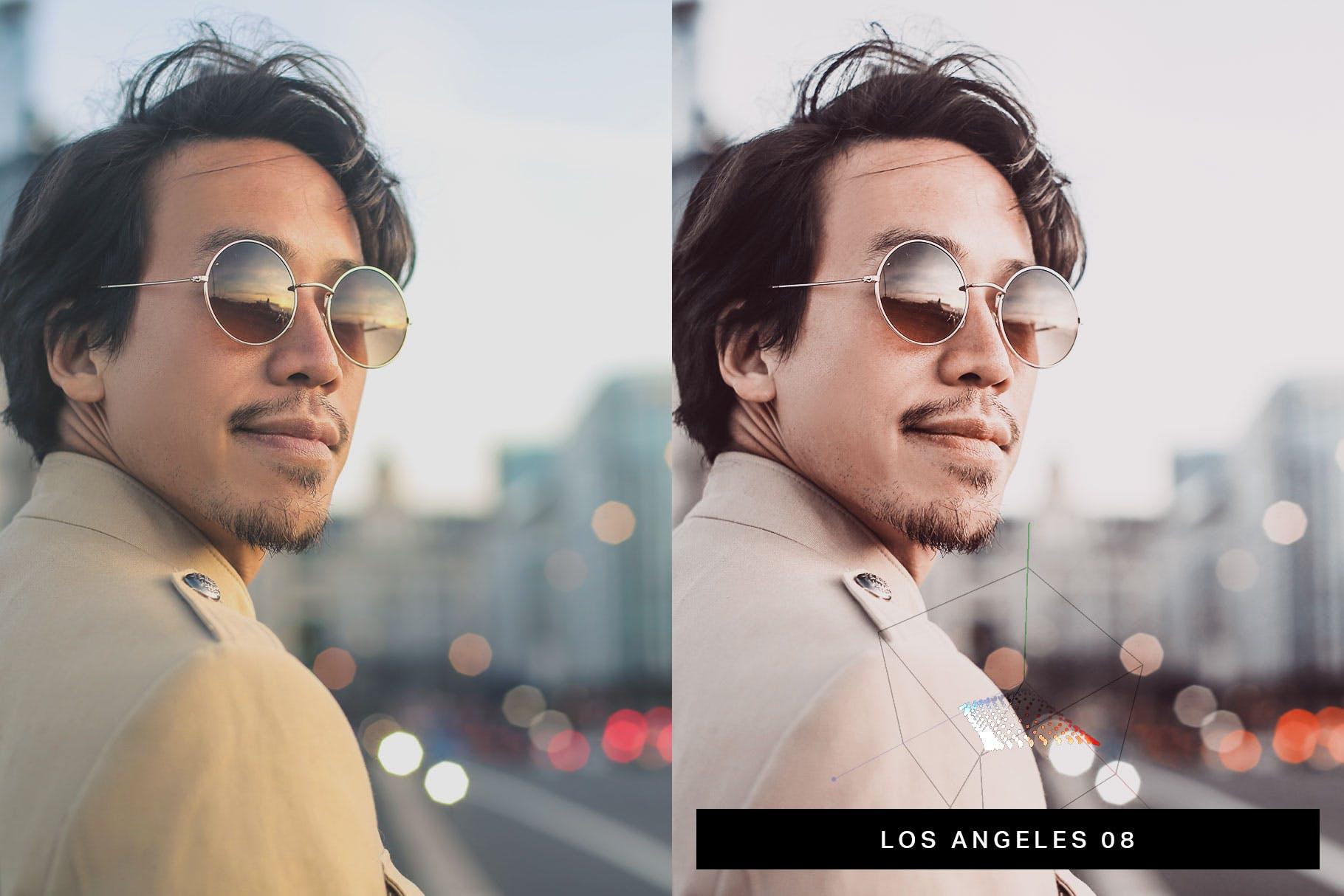 照片现代色彩风格后期处理LR预设 50 California Vibe Lightroom Presets and LUTs设计素材模板