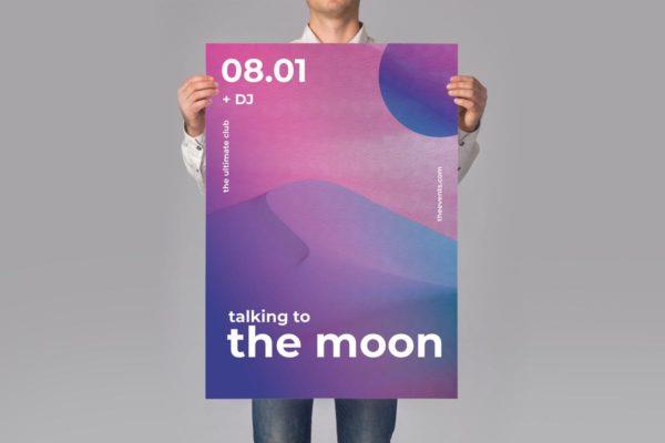 抽象风格音乐主题海报模板素材v2 Music Poster / Flyer Promotion