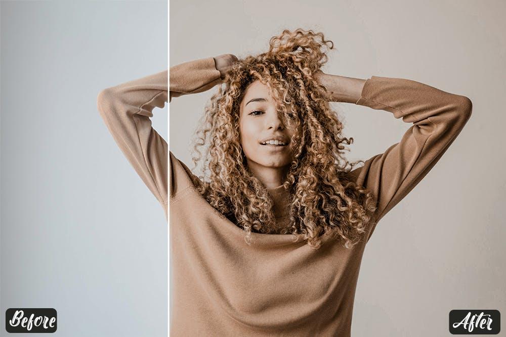 肖像人体肌肤照片后期调色Lightroom预设 Nude Tones Lightroom Presets设计素材模板
