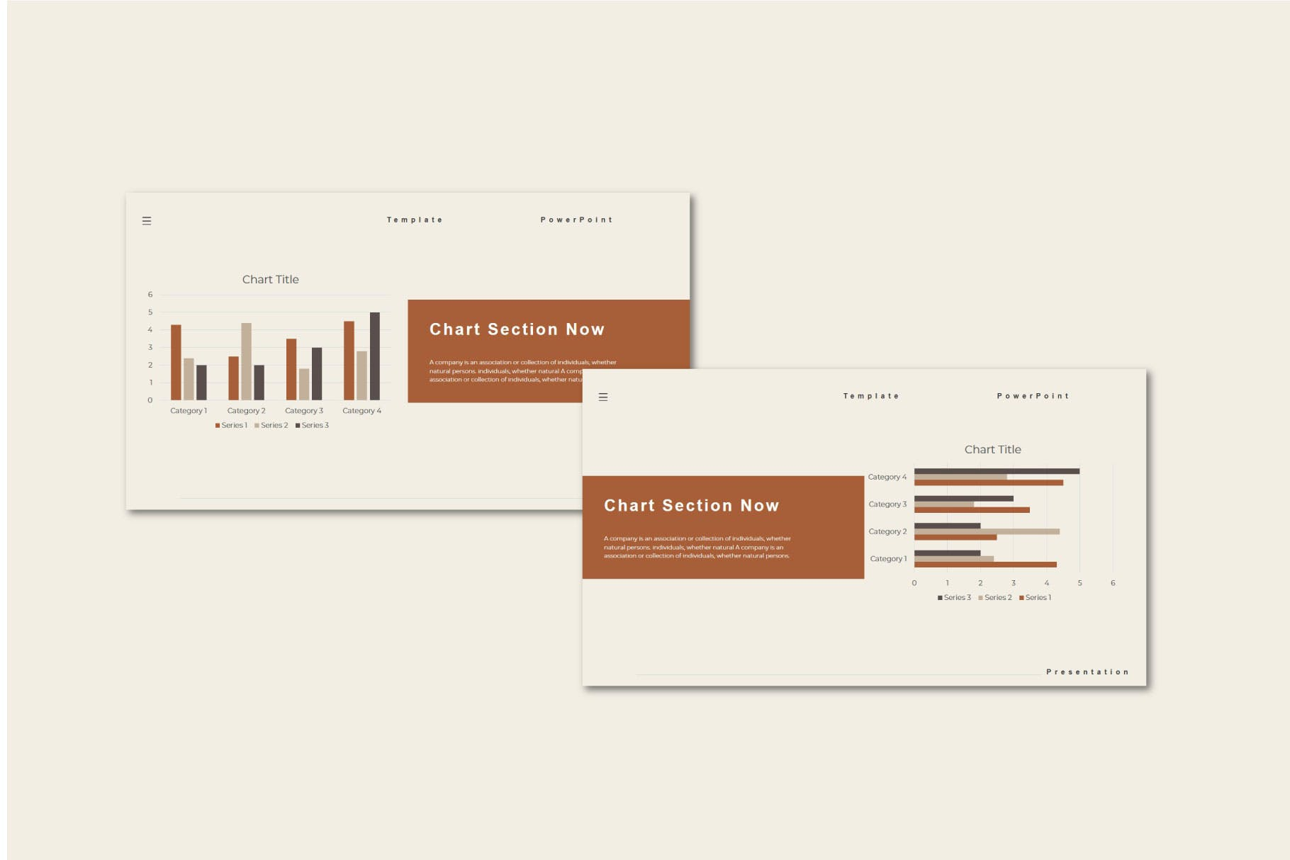 PPT幻灯片时尚服装设计模板 Lovita – Powerpoint Template设计素材模板