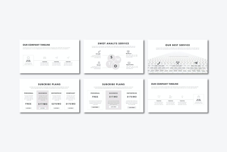 工作室成员创意介绍Powerpoint幻灯片模板 Blessing – Powerpoint Template设计素材模板