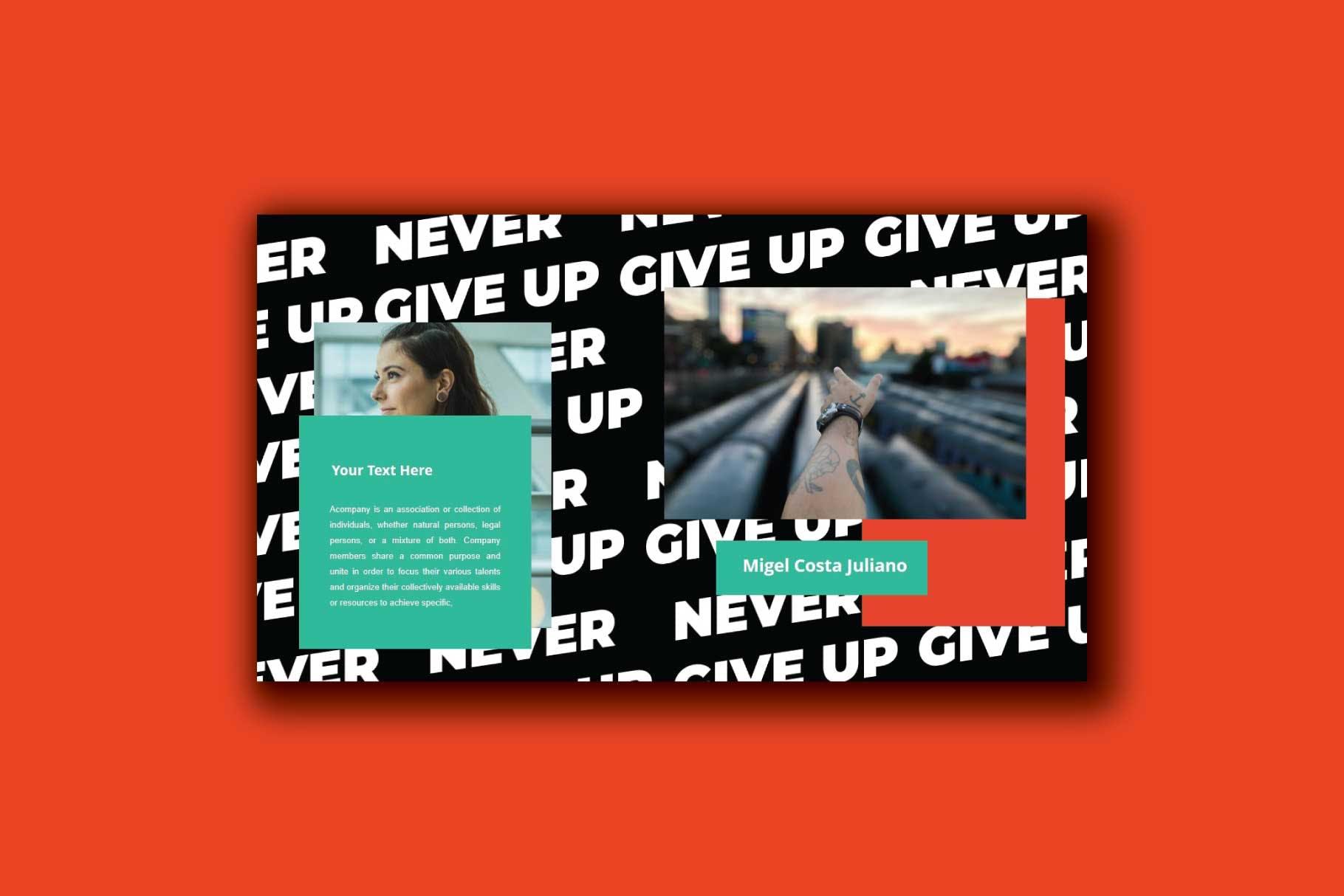 现代时尚PowerPoint演示文稿模板 Trance – Powerpoint Template设计素材模板