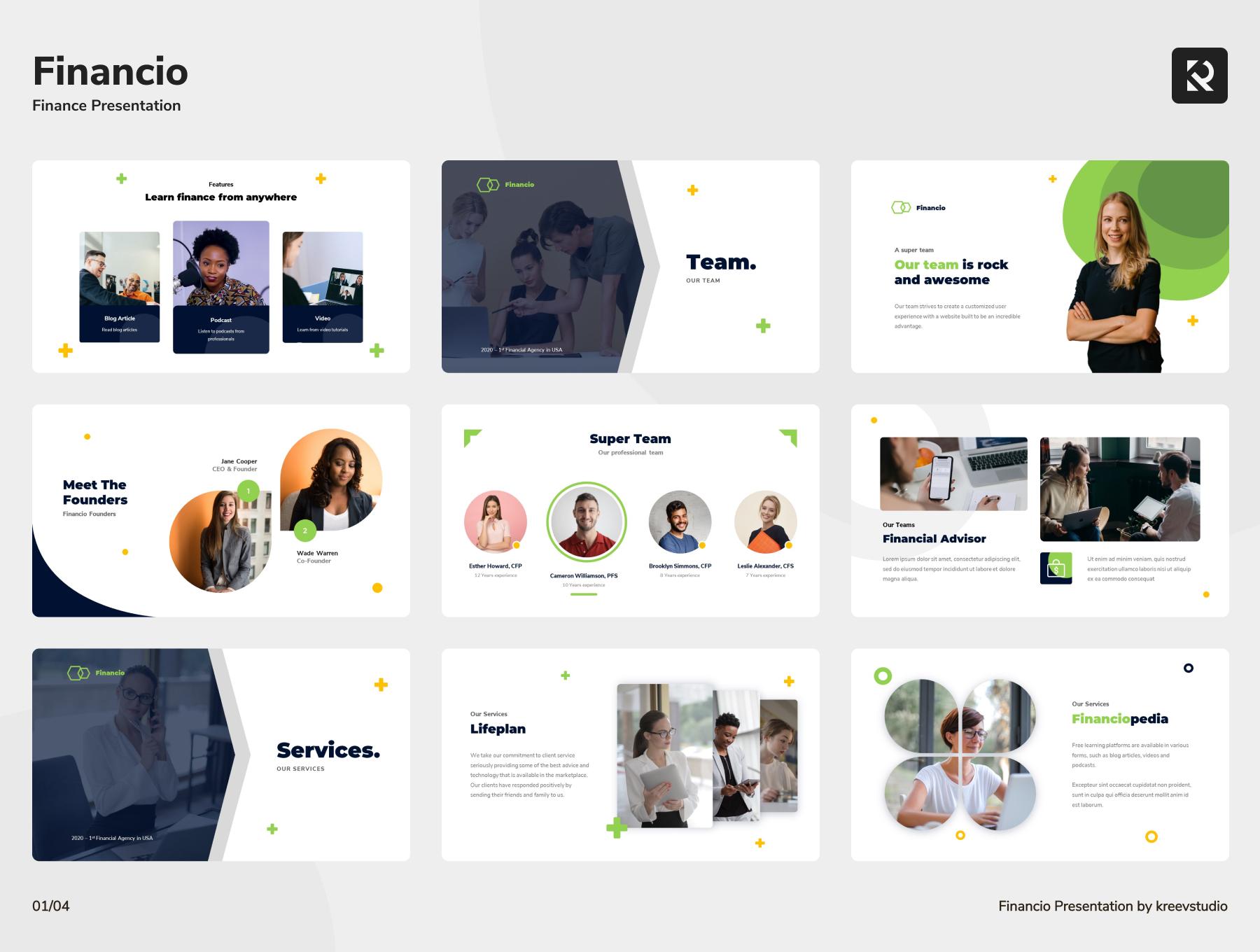 推销主题金融Keynote幻灯片演示模板设计素材模板