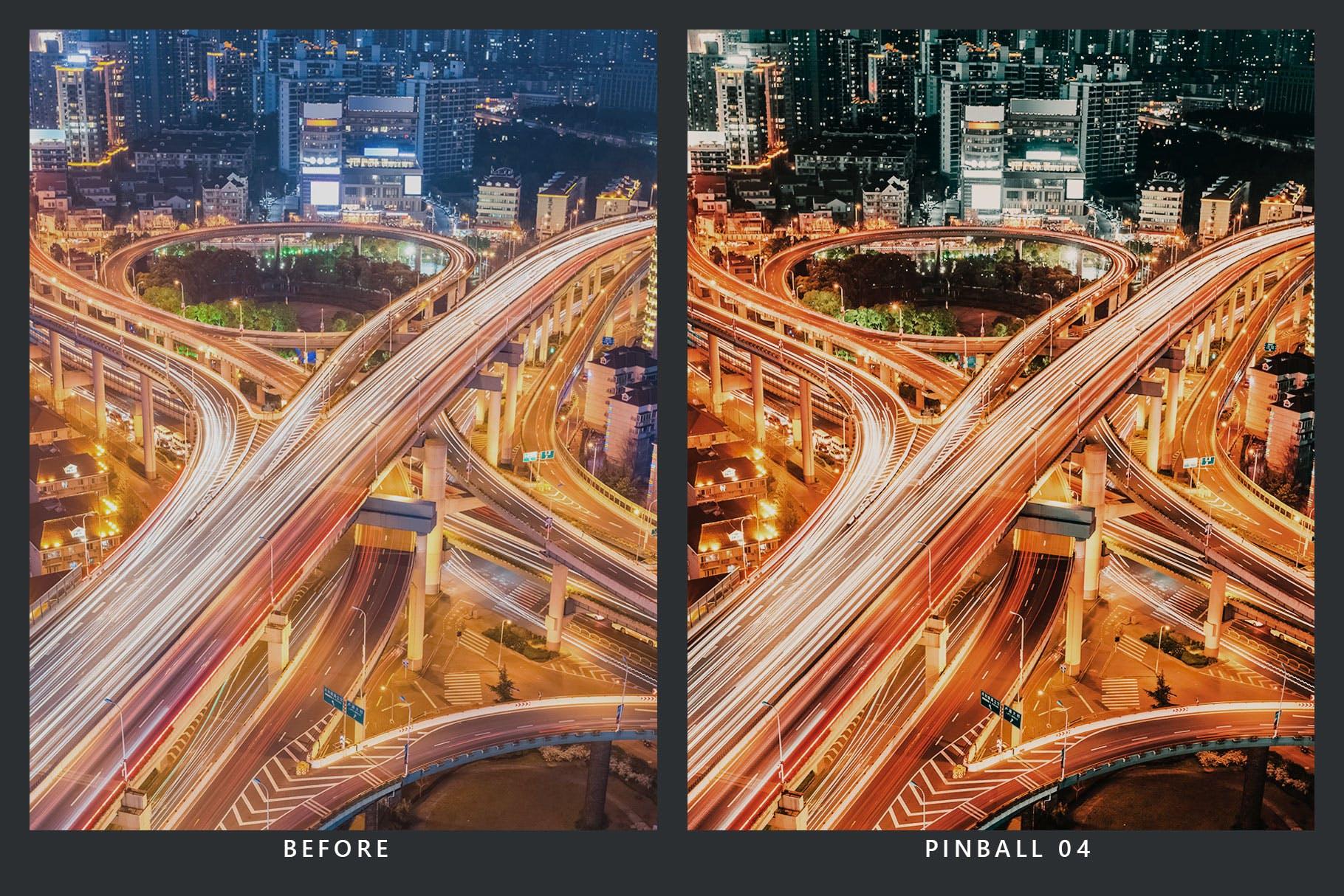 LR预设20款城市夜景摄影 20 Cherry Lime Lightroom Presets & LUTs设计素材模板