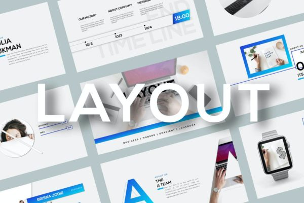 演示文稿PPT模板设计团队成员介绍 Layout – Powerpoint Template