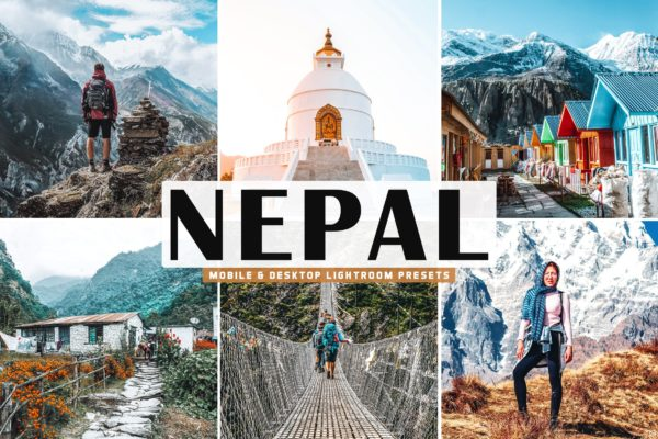 自然风景尼泊尔Lightroom移动预设 Nepal Mobile & Desktop Lightroom Presets