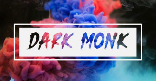 优雅现代手绘英文字体素材 DARK MONK – Brush Font