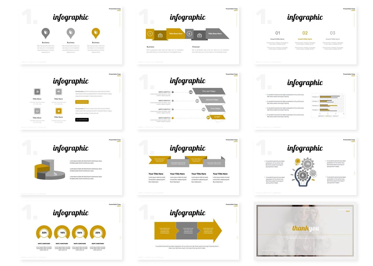 Keynote/服装品牌PPT/谷歌幻灯片三合一模板 Polosan Style | Powerpoint, Keynote, Googleslide设计素材模板
