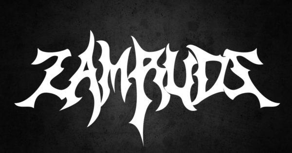 哥特部落风格死亡重金属装饰设计字体 Zamruds – Tribal Font